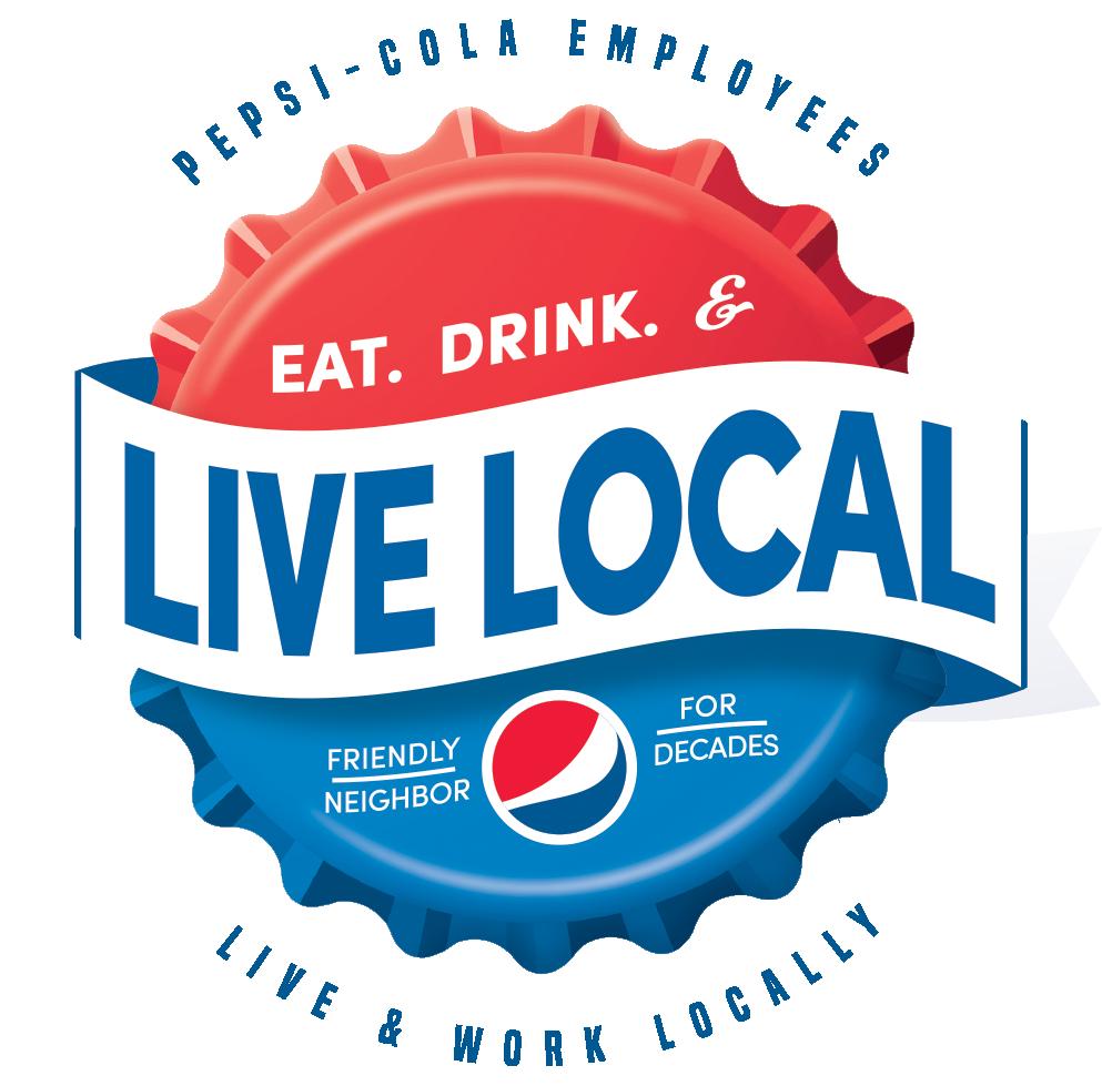 Pepsi Live Local Logo